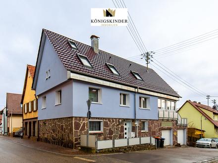 Großzügiges Wohnhaus für die ganze Familie in zentraler Ortslage von Weissach