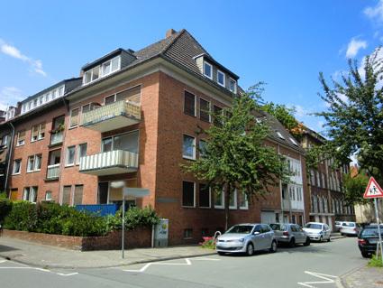 MS-City, Nähe Ludgeriplatz, 1 OG, helle 4 ZKB, 2 Balkone, Garage, ruhige Wohnlage.