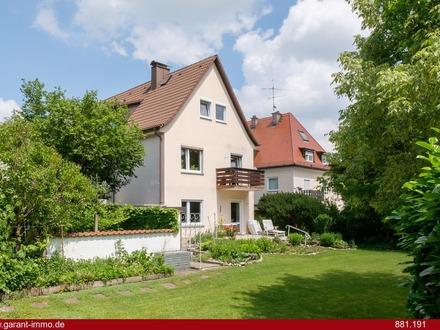 Einfamilienhaus mit über 400 qm Garten in ruhiger Südausrichtung und guter Lage