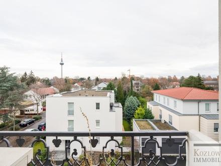 Direkt am Philosophenviertel - Klasse Oststadtwohnung mit 3 Balkonen und Garage!