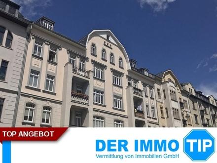 Helle 2 Zimmerwohnung mit Balkon und Fahrstuhl auf dem Kaßberg mieten