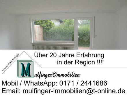 4,5 Zi. Wohnung im EG mit Garten, Terrasse und Stellplatz