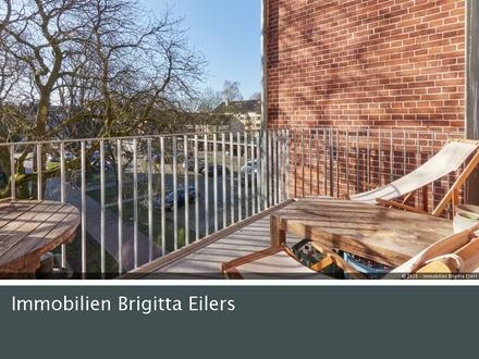 """Bremen Neustadt: Individuell geschnittene 1-Zi- Galerie-Whg mit Balkon im """"Quartier Buntentor"""""""
