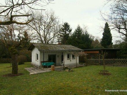 Ab ins Grüne – Wochenendhaus bei Jugenheim, ca. 33 qm, 1ZKB, Doppelgarage + Gartenhaus auf 1.243 qm