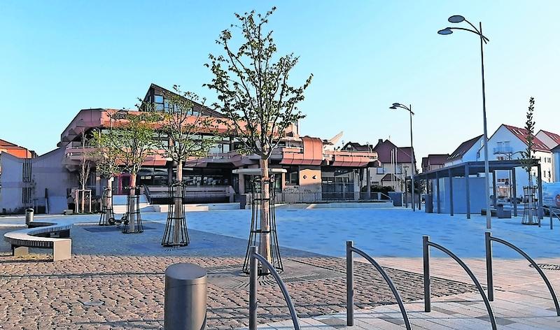 Bei der Neugestaltung des Mutterstadter Ortszentrums, hier ist der Platz vor der Neuen Pforte zu sehen, wurden viele Anregungen von Bürgern umgesetzt.