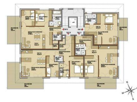 Wohnen im Park II - 2- Zimmer-Etagenwohnung