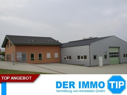 Halle beheizbar mit Bürogebäude Topzustand Nähe Mosel und A4 zu kaufen