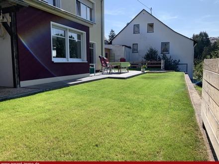 Platz für die ganze Familie mit wunderbarem Blick über Idar-Oberstein
