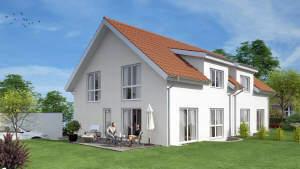 Neue, moderne Einfamilienhäuser/Doppelhaushälften