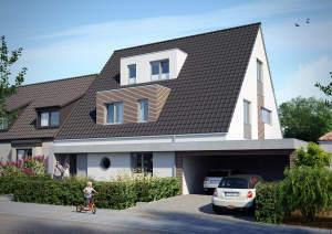 **Sentruper Höhe - Neubau-Maisonette-ETW - im Zweiparteienhaus**