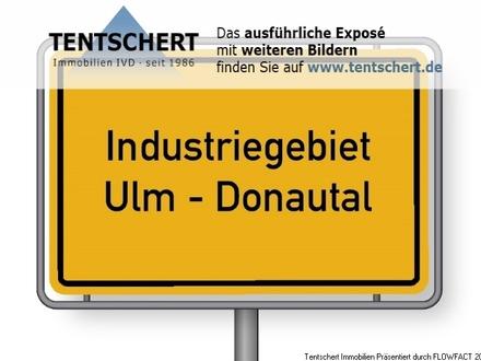 Produktionsareal im Industriegebiet Ulm-Donautal