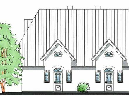 Neubau eines Wohnhauses mit zwei Wohnungen und mit jeweils zwei Terrassen, PKW-Stellplatz, Erdwärme!