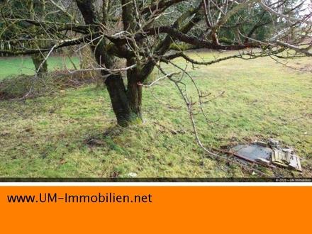 Preisreduktion: 1559 m² Grundstück mit Altbestand im Außenbereich