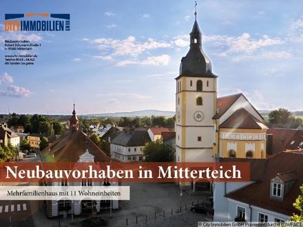 Neubauvorhaben in Mitterteich mit 11 Wohneinheiten