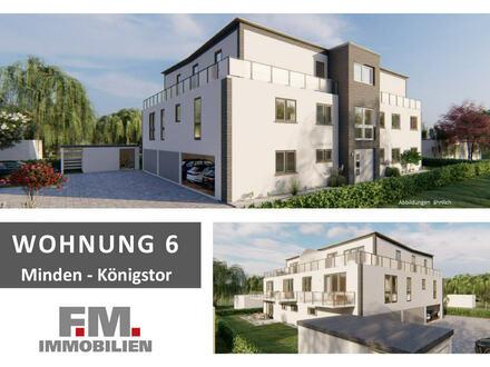 Wohnung 6 - Penthouse - Neues F.M. Bauprojekt - in zentraler Lage - Lifestyle-Eigentumswohnungen - KfW 55
