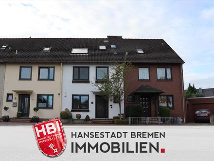 Delmenhorst | Stilvolles Reihenmittelhaus mit Garage