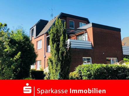 Schicke Eigentumswohnung für Sonnenliebhaber im beliebten Weyhe