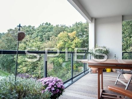Wohnen auf dem Stadtwerder: Traumhafte 3,5-Zimmer-Whg. mit großzügigem Balkon an der kleinen Weser