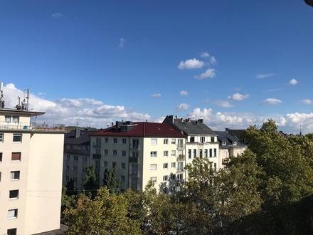 Gepflegte 2-ZKB-Wohnung mit Balkon und Ausblick in beliebter Innenstadtlage