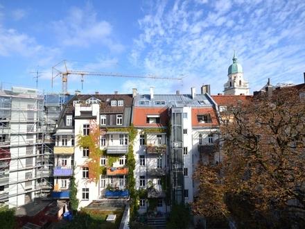 Top City-Lage am Josephsplatz: Helle 2-Zimmer Wohnung mit Balkon -zum Eigennutz-