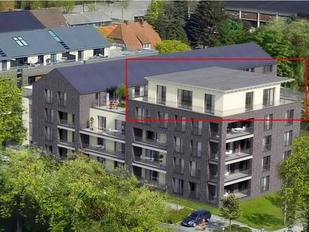 Neubau-Penthouse-Eigentumswohnung in Top Lage, Nähe Altstadt und Hafen
