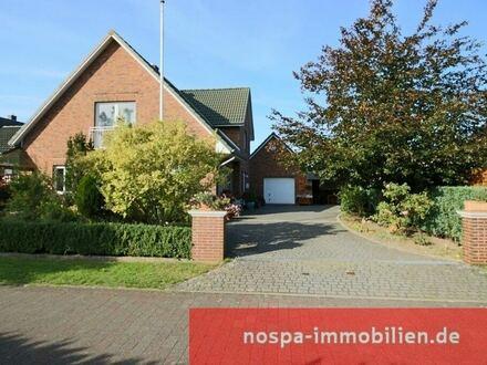 Hier spürt man die Qualität: 1999 errichtetes Wohnhaus mit Garage und Wintergarten nahe Schleswig!