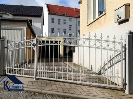 Einfamilienhaus in Zeitz Ortsteil Zangenberg mit Garage, Gartenhaus und Grillplatz