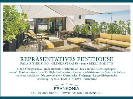 Repräsentatives Penthouse