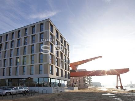 Moderne Büroflächen am Neuen Hafen mit Wasserblick