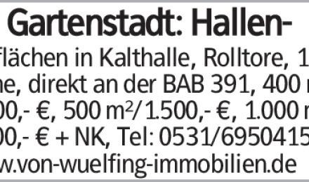 BS Gartenstadt: Hallen-