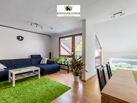 Schicke DG-Wohnung in kleiner Wohneinheit im Weinort Besigheim