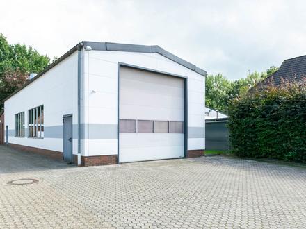 Gewerbehalle mit kleinem Büro in Ofenerdiek/Etzhorn