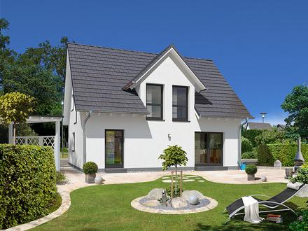 frei geplantes STREIF Haus in Kfw 40 auf ebenem Grundstück