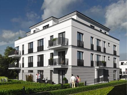 Neubau/Erstbezug: Hochwertige 1-Zimmer-Wohnung mit Terrasse und Garten in Schwachhausen
