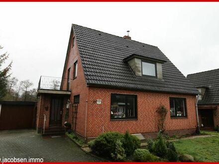Vermietetes Einfamilienhaus in schöner Wohnlage von Leck