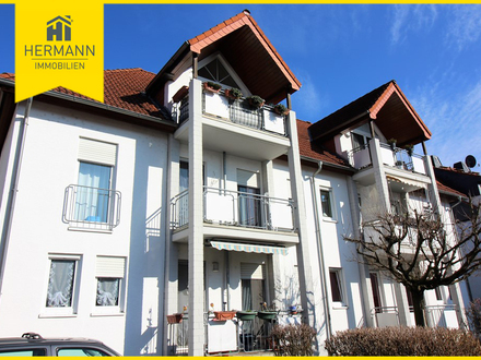 Vermietete, sehr schöne gutgeschnittene 2-Zimmer-Wohnung in Niddatal-Ilbenstadt!