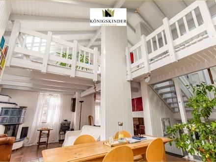 Darf es etwas aussergewöhnliches sein?Individuelles Einfamilienhaus mit ELW in sonniger Höhenlage