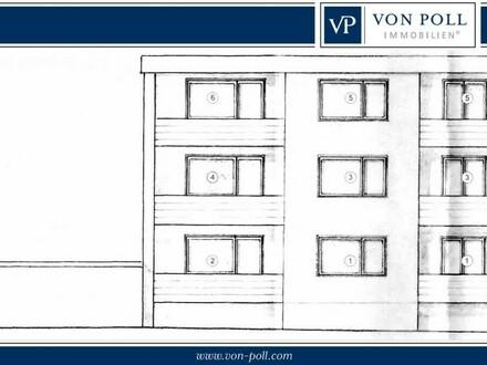 Bielefeld-Heepen: Gepflegtes Backstein-Mehrfamilienhaus mit 6 WE + Garagenhof