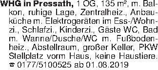 WHG in Pressath, 1 OG, 135 m²,...