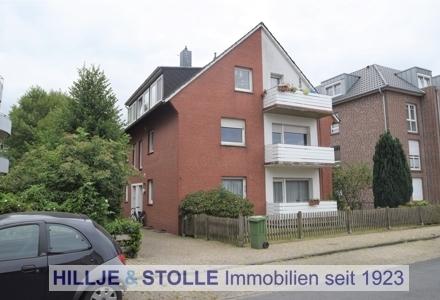 Oldenburger Bürgereschviertel! Helle 3 ZKB Wohnung mit Balkon!
