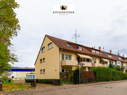 Interessante Kapitalanlage: Vermietete 3-Zimmer DG-Wohnung mit Stellplatz in S-Hedelfingen