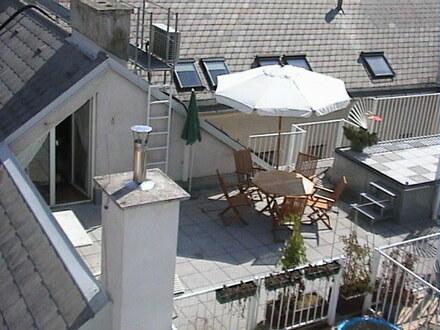 Rochusmarkt: schöne Dachterrassenwohnung - provisionsfrei!