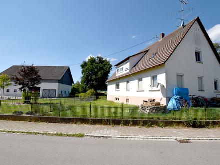Vielseitiges Doppelhaus mit zwei Wohneinheiten zwischen Ostrach und Pfullendorf