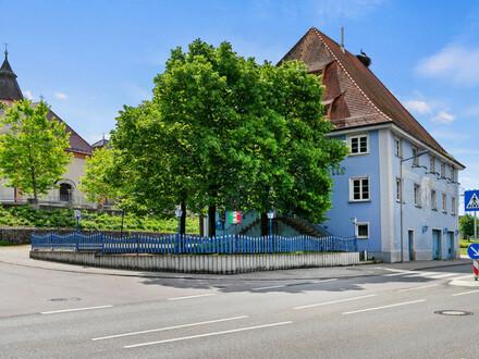 Denkmalgeschütztes Wohn- und Geschäftshaus mit zusätzlichem Grundstück in Krauchenwies - Göggingen