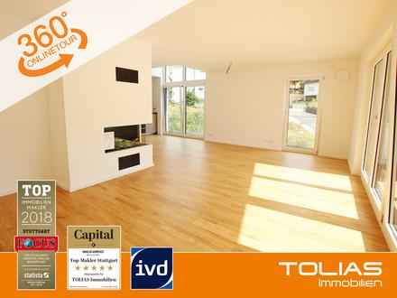 Exklusiver Wohngenuss! Stilvolle 5-Zimmer-Maisonette-Wohnung mit Luxus-Ausstattung, Neubauerstbezug!