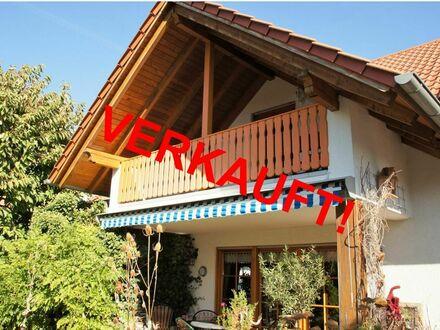 RB Immobilien - Stilvolles u. gepflegtes Einfamilienhaus in Wöllstein, 5 Zimmer, große Garage, schöner Garten, in verkehrsgünstiger…