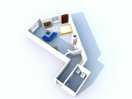 Schöne helle 1-Zimmer Wohnung im Erdgeschoss - Innenstadtlage
