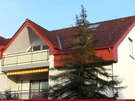 Gepflegte Maisonette-Wohnung mit Balkon und Einzelgarage in begehrter Lage
