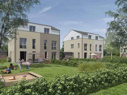 Doppelhaushälfte mit 3 Etagen und Garten in ruhigem Wohnumfeld