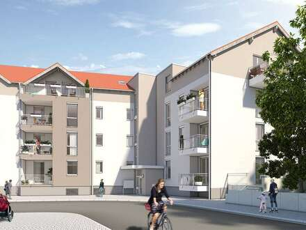 Barrierefreie 3 ZKB - Neubauprojekt Ludwigshafen Burgundenhof